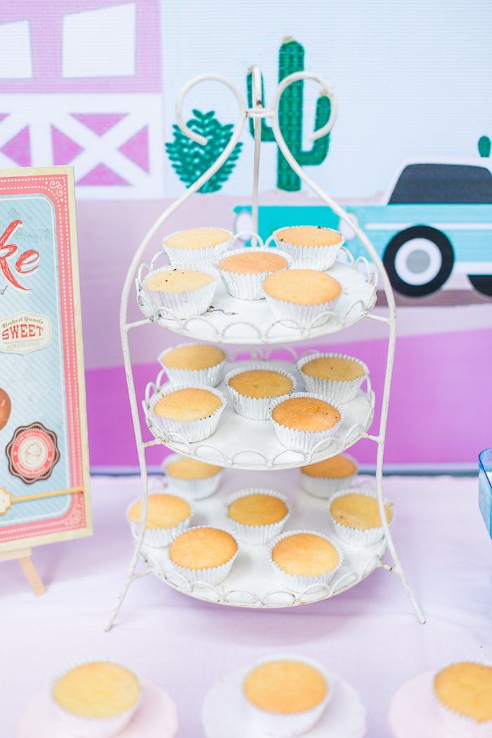 Cupcakes from an Island Tropical Birthday Party on Kara's Party Ideas | KarasPartyIdeas.com (25)
