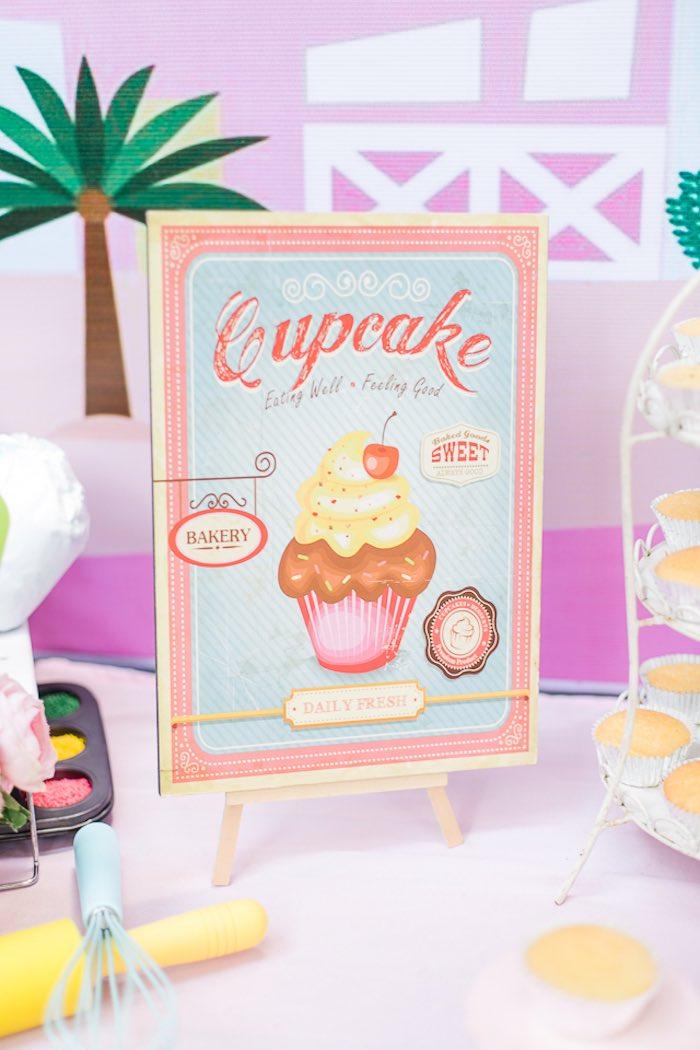 Cupcake Print from an Island Tropical Birthday Party on Kara's Party Ideas | KarasPartyIdeas.com (24)