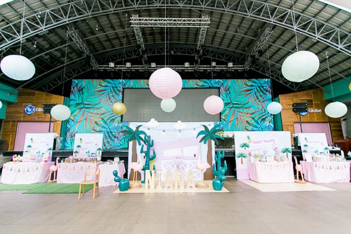 Island Tropical Birthday Party on Kara's Party Ideas | KarasPartyIdeas.com (42)