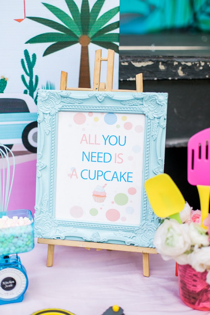 All You Need is a Cupcake Print from an Island Tropical Birthday Party on Kara's Party Ideas | KarasPartyIdeas.com (23)