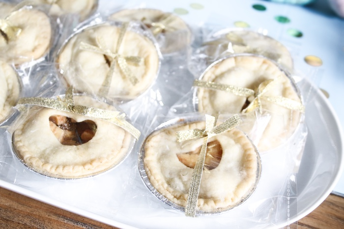 Mini Pies from a Little Pumpkin 1st Birthday Party on Kara's Party Ideas | KarasPartyIdeas.com (17)