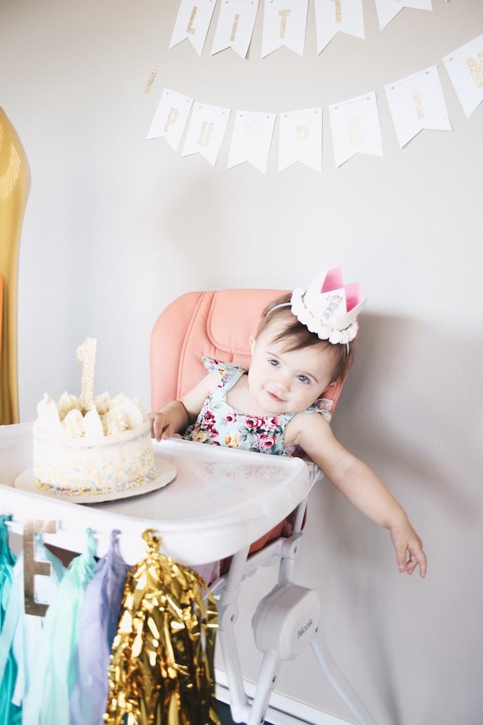 Little Pumpkin 1st Birthday Party on Kara's Party Ideas | KarasPartyIdeas.com (6)