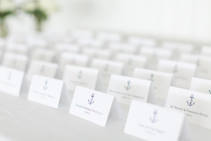 Nautical Seating Chart from a Nautical 1st Birthday Party on Kara's Party Ideas | KarasPartyIdeas.com (27)