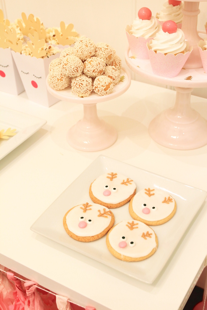 Reindeer Cookies from an OH DEER Christmas Party on Kara's Party Ideas | KarasPartyIdeas.com (9)