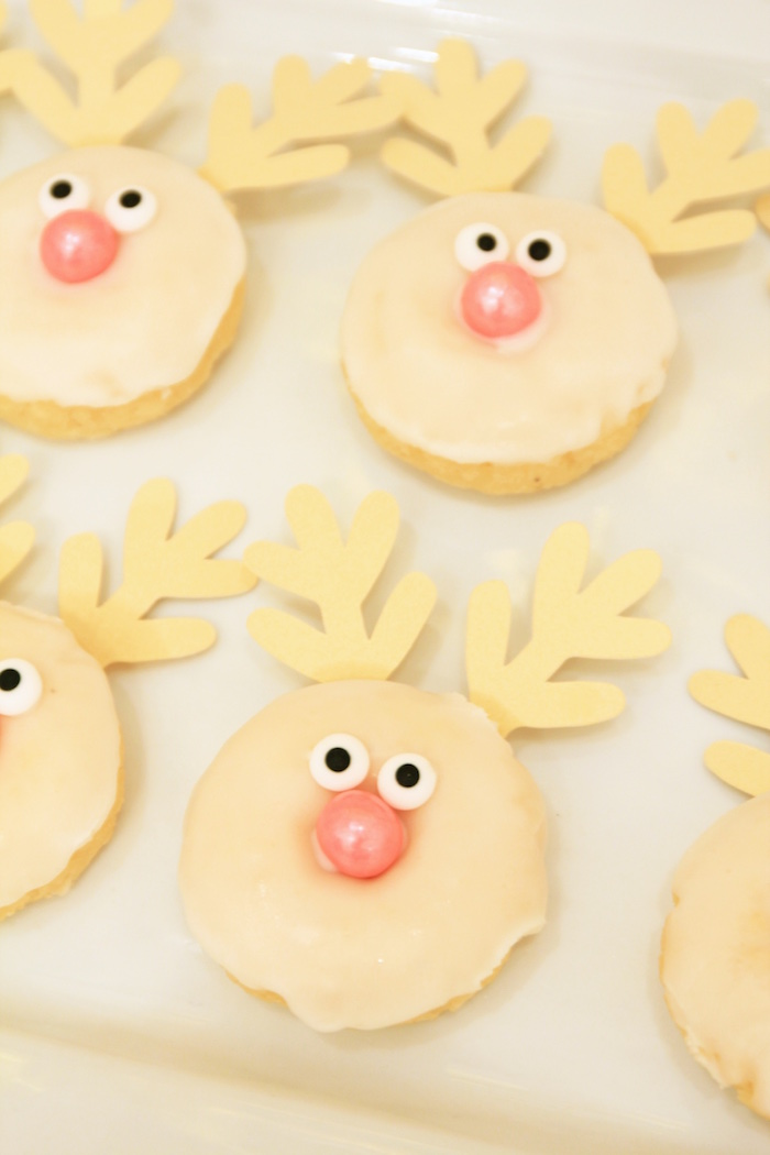 Rudolph Donuts from an OH DEER Christmas Party on Kara's Party Ideas | KarasPartyIdeas.com (8)
