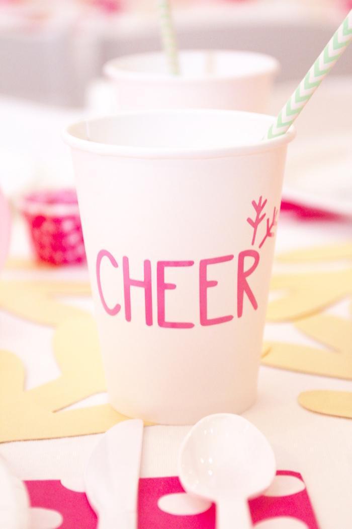 Reindeer Cheer Cup form an OH DEER Christmas Party on Kara's Party Ideas | KarasPartyIdeas.com (34)
