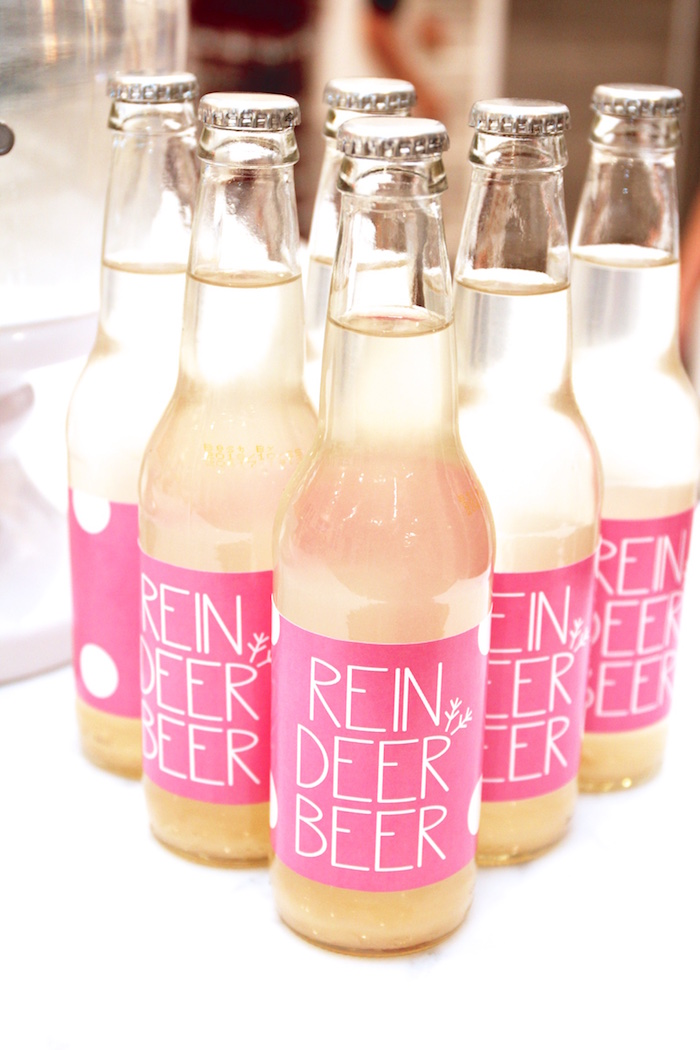 Reindeer Beer from an OH DEER Christmas Party on Kara's Party Ideas | KarasPartyIdeas.com (31)