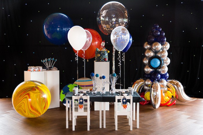 Outer Space Birthday Party via Kara's Party Ideas | KarasPartIdeas.com (13)