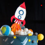 Outer Space Birthday Party via Kara's Party Ideas | KarasPartIdeas.com (1)