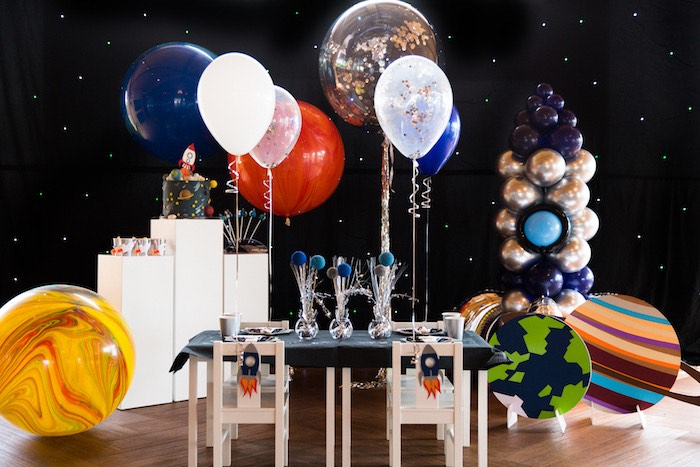 Outer Space Birthday Party via Kara's Party Ideas | KarasPartIdeas.com (20)