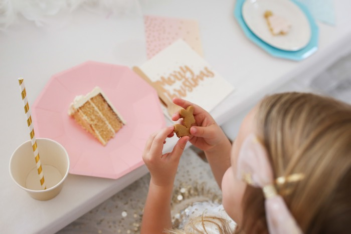 Pastel Glam Christmas Party for Kids on Kara's Party Ideas | KarasPartyIdeas.com (5)