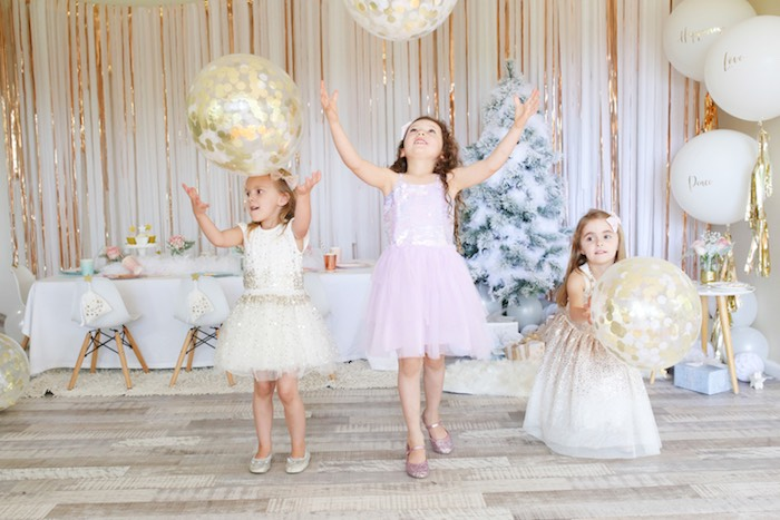 Pastel Glam Christmas Party for Kids on Kara's Party Ideas | KarasPartyIdeas.com (10)