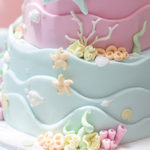 Pastel Mermaid Birthday Party on Kara's Party Ideas | KarasPartyIdeas.com (3)