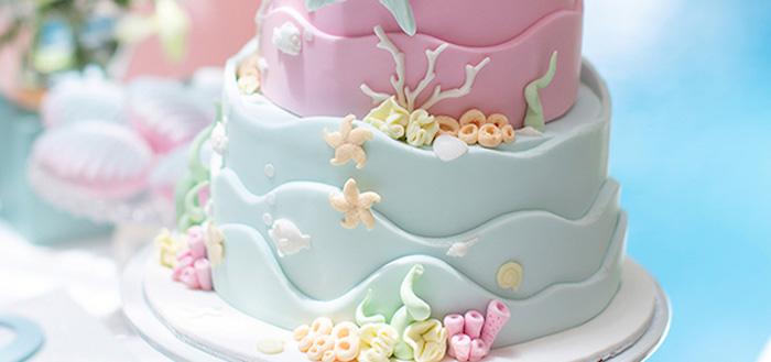 Pastel Mermaid Birthday Party on Kara's Party Ideas | KarasPartyIdeas.com (3)