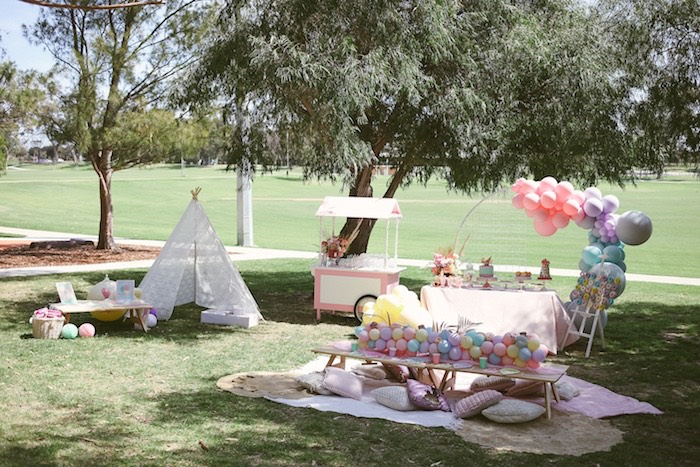 Pastel Sweet 2nd Birthday Party on Kara's Party Ideas | KarasPartyIdeas.com (14)