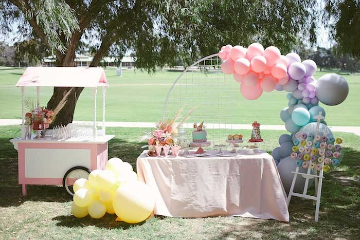 Pastel Sweet 2nd Birthday Party on Kara's Party Ideas | KarasPartyIdeas.com (12)