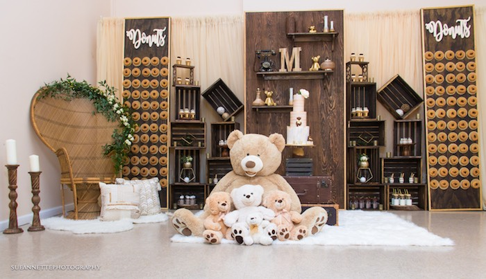 Rustic Teddy Bear Baby Shower on Kara's Party Ideas | KarasPartyIdeas.com (19)