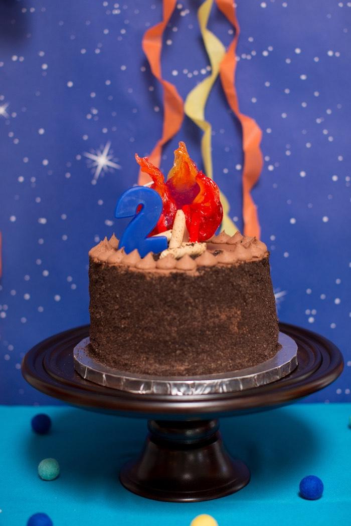 Pleasing Karas Party Ideas Two Hot Hot Campfire Birthday Party Karas Birthday Cards Printable Nowaargucafe Filternl