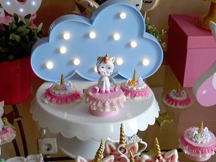 Frilly Unicorn Favors from a Unicorn Princess Birthday Party on Kara's Party Ideas | KarasPartyIdeas.com (10)