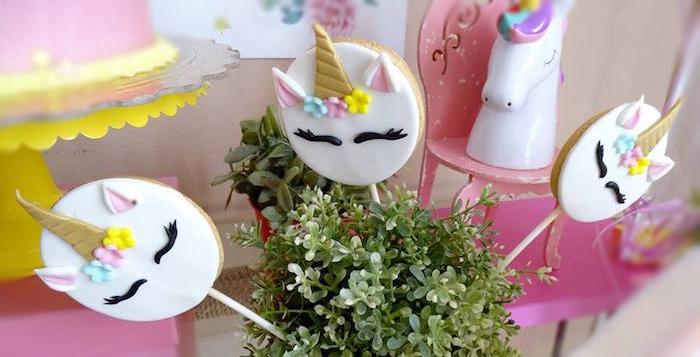 Unicorn Princess Birthday Party on Kara's Party Ideas | KarasPartyIdeas.com (3)