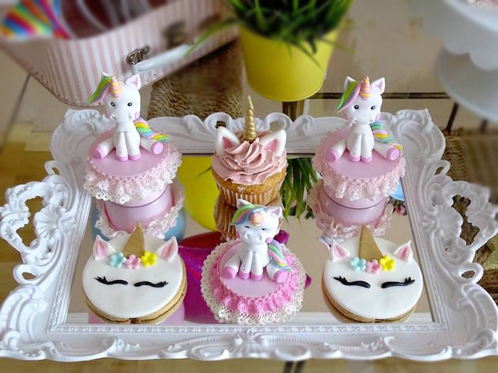 Unicorn Cookies, Cupcakes & Favors from a Unicorn Princess Birthday Party on Kara's Party Ideas | KarasPartyIdeas.com (21)