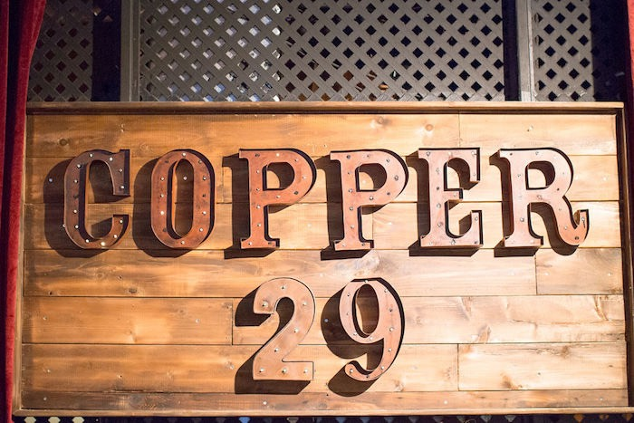 Rustic Wood Sign from a Vintage Baptism Party on Kara's Party Ideas | KarasPartyIdeas.com (13)