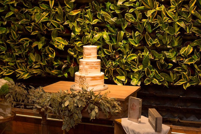 Cake Table from a Vintage Baptism Party on Kara's Party Ideas | KarasPartyIdeas.com (6)