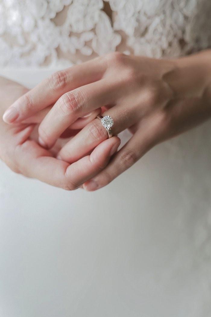"""Love at First Sight"" Romantic Modern Wedding on Kara's Party Ideas | KarasPartyIdeas.com (10)"