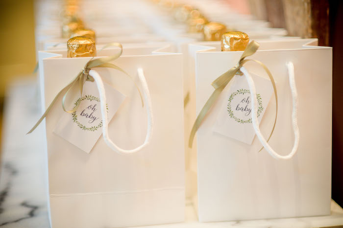 """Gift Bags from an """"Oh Baby"""" Garden Oasis Baby Shower on Kara's Party Ideas   KarasPartyIdeas.com (25)"""