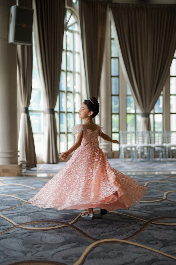 Ballroom Twirl from a Prelude to Paris Birthday Party on Kara's Party Ideas | KarasPartyIdeas.com