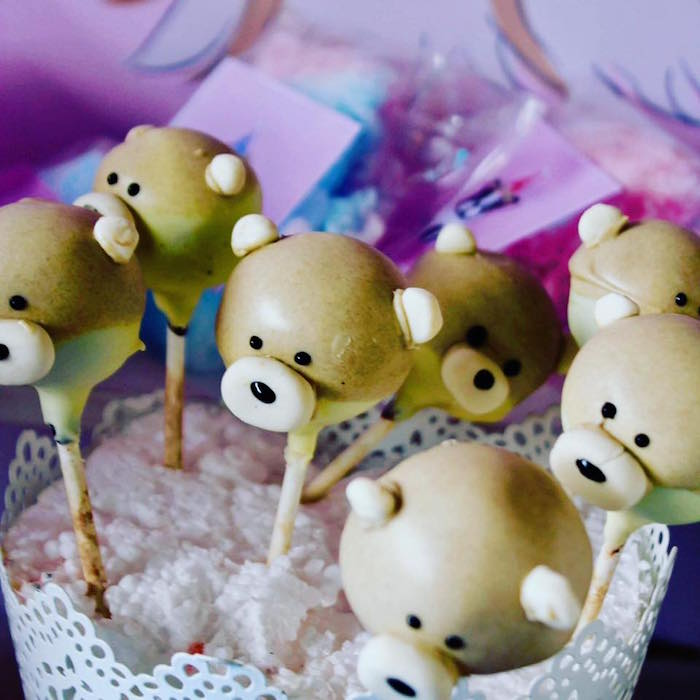 Cake Pops from a 5th Birthday Puppy Paw-ty on Kara's Party Ideas | KarasPartyIdeas.com (6)