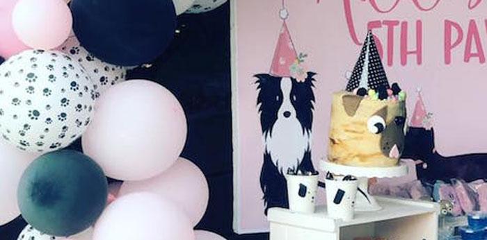 5th Birthday Puppy Paw-ty on Kara's Party Ideas | KarasPartyIdeas.com (1)
