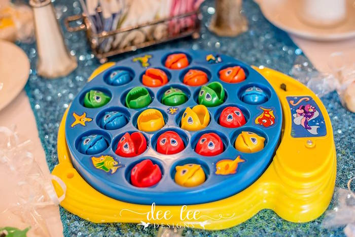 Fishing Game from a Baby Shark Birthday Party on Kara's Party Ideas | KarasPartyIdeas.com (8)