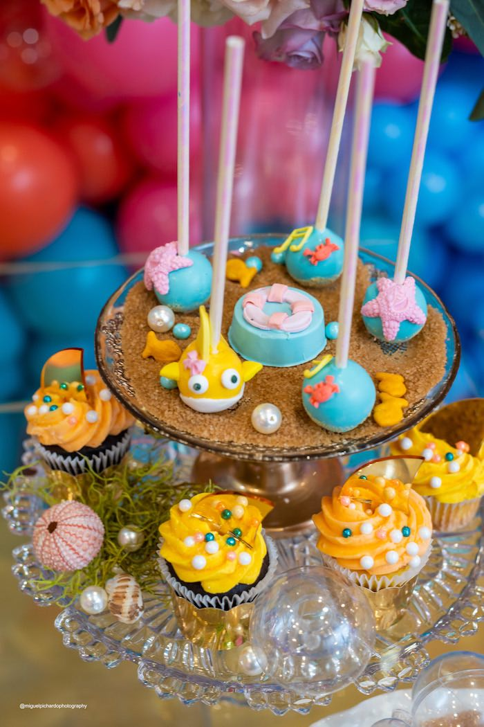 Baby Shark Birthday Party on Kara's Party Ideas | KarasPartyIdeas.com (17)