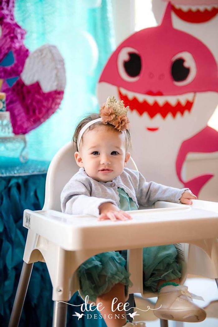 Baby Shark Birthday Party on Kara's Party Ideas | KarasPartyIdeas.com (3)