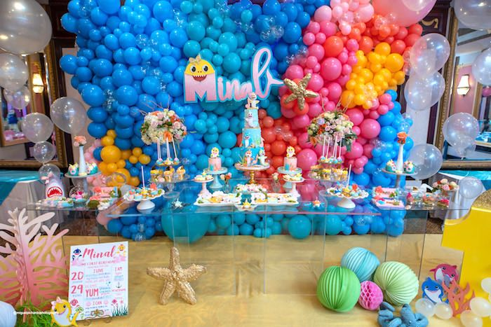 Baby Shark Birthday Party on Kara's Party Ideas   KarasPartyIdeas.com (28)