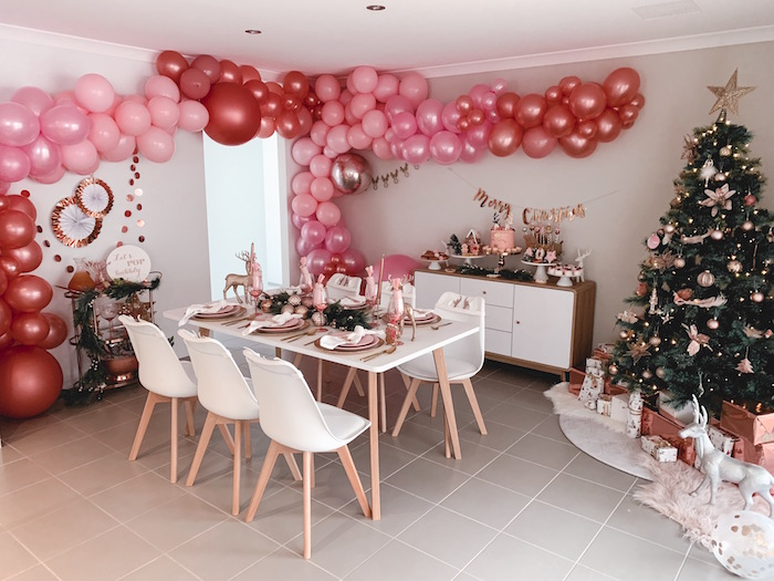 Blushing Brunch & Bubbly Holiday Party on Kara's Party Ideas | KarasPartyIdeas.com (5)
