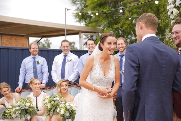I Do's from a Classic Backyard Wedding on Kara's Party Ideas | KarasPartyIdeas.com (7)