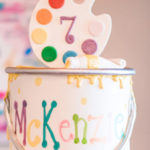 Colorful Art Party on Kara's Party Ideas | KarasPartyIdeas.com (1)
