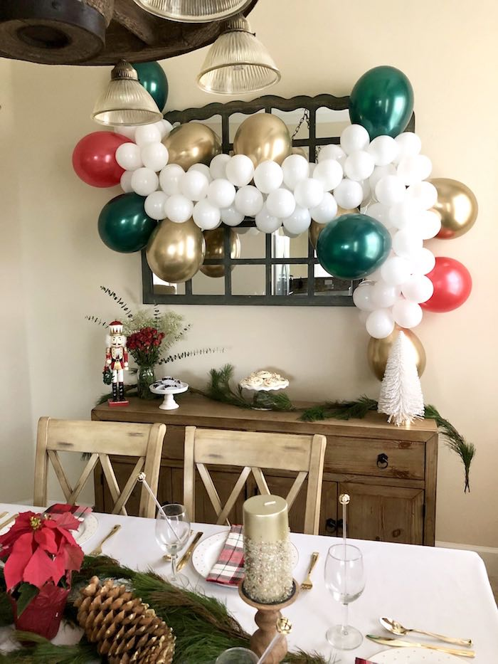 DIY Plaid & Pine Classic Christmas Tablescape on Kara's Party Ideas | KarasPartyIdeas.com (24)