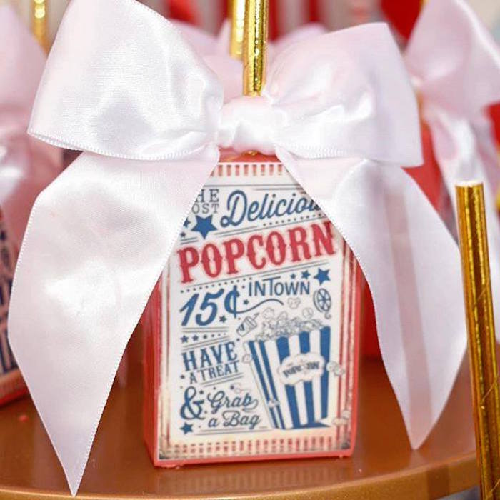 Popcorn Box Dessert Pops from a Dumbo's Circus Party on Kara's Party Ideas | KarasPartyIdeas.com (10)