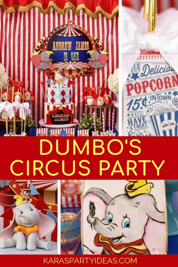 Dumbo's Circus Party via Kara's Party Ideas - KarasPartyIdeas.com