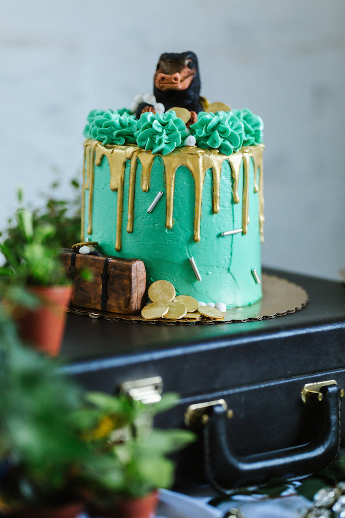 Kara S Party Ideas Fantastic Beasts Inspired 1st Birthday