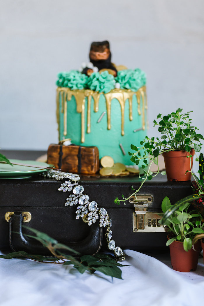 Niffler Cake from a Fantastic Beasts Inspired 1st Birthday Cake Smash Fantastic Beasts Inspired 1st Birthday Cake Smash Fantastic Beasts Inspired 1st Birthday Cake Smash on Kara's Party Ideas | KarasPartyIdeas.com (21)