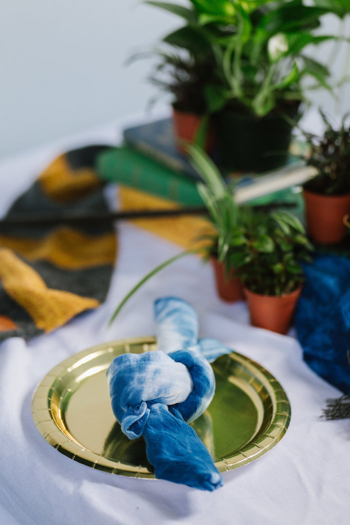 Table Setting from a Fantastic Beasts Inspired 1st Birthday Cake Smash Fantastic Beasts Inspired 1st Birthday Cake Smash Fantastic Beasts Inspired 1st Birthday Cake Smash on Kara's Party Ideas | KarasPartyIdeas.com (16)