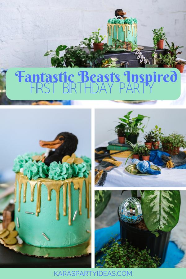 Fantastic Beasts Inspired Party via Kara's Party Ideas - KarasPartyIdeas.com