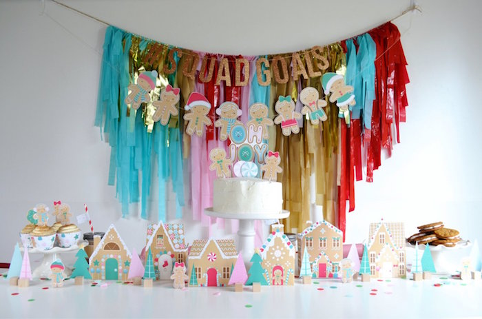 Gingerbread Candy Land Christmas Party on Kara's Party Ideas | KarasPartyIdeas.com (14)