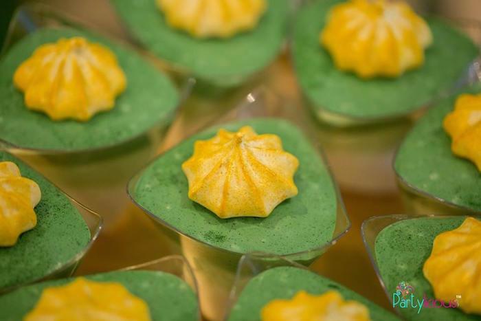 Dessert Cups from a Golden Safari Birthday Party on Kara's Party Ideas   KarasPartyIdeas.com (5)