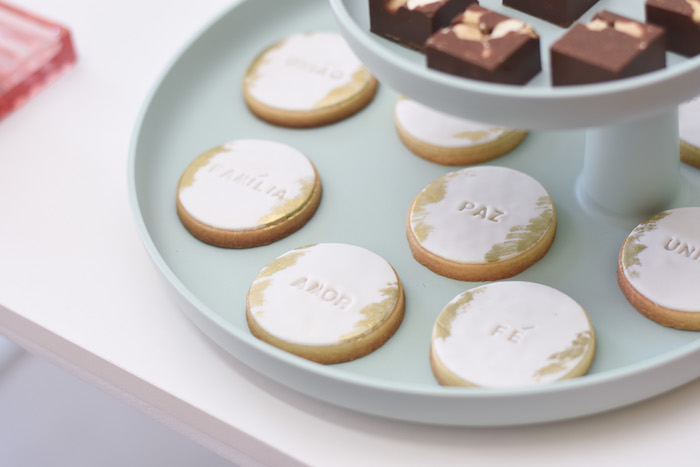 Cookies from a Modern Minimal Nordic-Style Christmas Party on Kara's Party Ideas | KarasPartyIdeas.com (17)