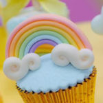 Rainbows & Clouds Birthday Party on Kara's Party Ideas | KarasPartyIdeas.com (1)